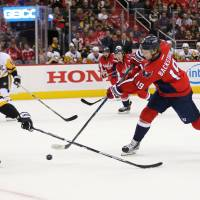 Capitals come out strong in rout