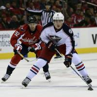 Streaking Blue Jackets top Capitals on late goal