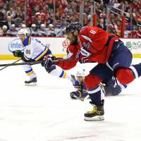 Ovechkin bags 16th hat trick of NHL career