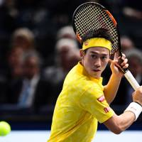 Nishikori breezes past Troicki to reach third round in Paris