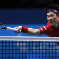 Nishikori keeping feet on ground after successful season