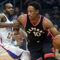 Fueled by hard work and a polished mid-range game, Raptors guard DeMar DeRozan has become one of the elite scorers in  the NBA. | USA TODAY / VIA REUTERS