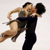 Virtue, Moir win NHK Trophy ice dance title with record-setting performance