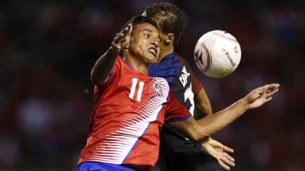 Costa Rica routs U.S. in qualifying