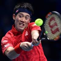 Murray outduels Nishikori in three-hour battle at ATP World Tour Finals
