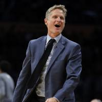 Warriors' Kerr, West speak out against Trump victory