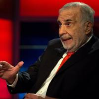 Billionaire activist-investor Carl Icahn gives an interview on FOX Business Network's Neil Cavuto show in New York in 2014. | REUTERS