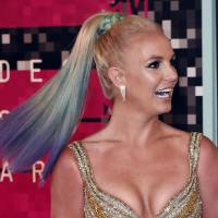 Recording artist Britney Spears arrives on the red carpet at the MTV Video Music Awards (VMA) at the Microsoft Theater in Los Angeles in 2015. The Sony Music Global Twitter account sent a tweet early Monday saying that Spears had died. A representative for Spears confirmed to CNN on Monday that the singer is alive and well. Hackers appear to be behind the tweets.   AFP-JIJI