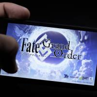 Sony Corp.'s 'Fate/Grand Order' mobile game is quietly gaining popularity in Japan. | BLOOMBERG