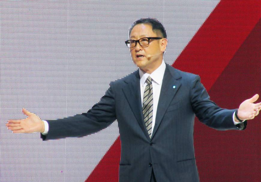 Toyota likely to fall from top spot in global auto sales