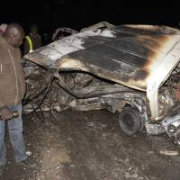 Over 30 dead as Ugandan-registered chemical tanker crashes, explodes, in Kenya