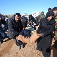 Russia declares Aleppo lull for evacuations but Assad regime seen pressing ahead, civilians fleeing