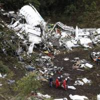 Jetliner carrying Brazil soccer team ran out of fuel before crash, Colombia probe finds