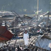 Survivors recount massive explosions, carnage at crowded Mexico fireworks market