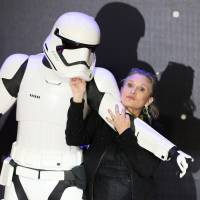 Carrie Fisher in intensive care after reported heart attack