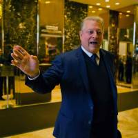 Gore meets Trump, boasts 'sincere search for areas of common ground'
