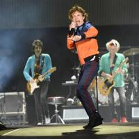 It's a boy: Great-grandfather Mick Jagger dad again at 73