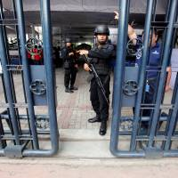 Police kill pair, arrest two, seize Islamic State-linked items in Java terror raid