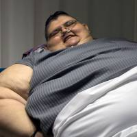 Big resolution: world's fattest man vows to halve his size