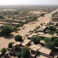 Gao, northern Mali, is seen in 2013. A Frenchwoman who runs an aid group has been kidnapped in Mali, the French foreign ministry confirmed Sunday. Sophie Petronin was abducted in Gao, in Mali's restive north, on Saturday. | AFP-JIJI