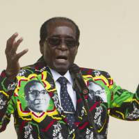 Zimbabwe's Mugabe, 92, gets nod for '18 poll, moves closer to dream of ruling nation at 100