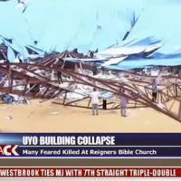 Church roof collapse in remote Nigeria town leaves over 50 worshippers dead