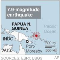 Quake off Solomons and Papua New Guinea is region's third strong quake in two weeks