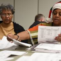 Michigan vote recount widens as Pennsylvania awaits federal hearing