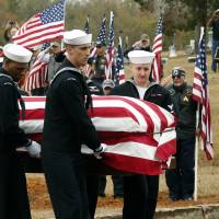 Pearl Harbor victim laid to rest in Mississippi 75 years after attack