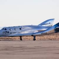 Virgin Galactic spaceship makes first glide flight