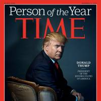 Time magazine names Trump its 2016 'Person of the Year'