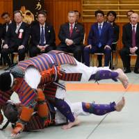 Putin exits onsen drama holding all the cards