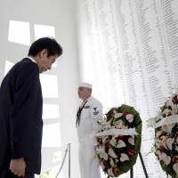 Full text of Abe's address at Pearl Harbor