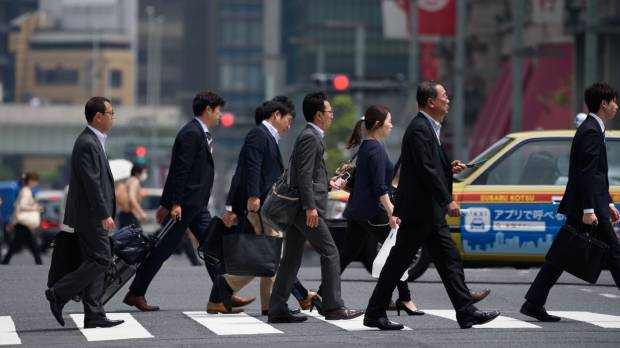Modern Japanese men dogged by stoic salaryman stereotype