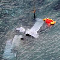 Five crew members rescued, two of them hurt, after Futenma Marine Osprey ditches off Nago