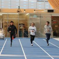 New running facility opens in Tokyo for athletes of all stripes