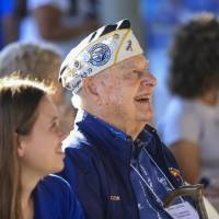 Pearl Harbor survivor wants Abe to apologize in Hawaii