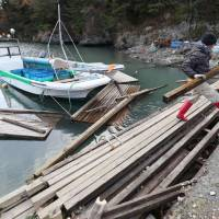 Tohoku fisheries elude major damage from March 2011 aftershock