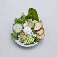 Sliced avocado and eggs on toast | ME'S CAFE & KITCHEN