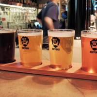 BrewDog Roppongi offer tasting courses of the unique beers from their Scottish brewery. | DAVEY YOUNG