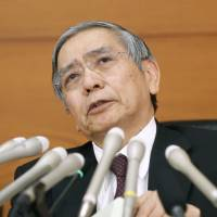 In January, Bank of Japan Gov. Haruhiko Kuroda made the decision to introduce a negative interest rate.