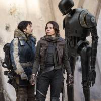 Rebels with a cause: Diego Luna (left) and Felicity Jones star in 'Rogue One: A Star Wars Story.' | © LUCASFILM LTD. ALL RIGHTS RESERVED