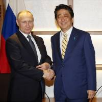 Why Abe's Russian gambit is doomed