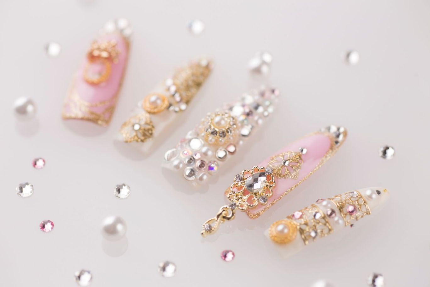 Inspired Fashion From Marie Antoinette Nail Art To 60s Textiles To