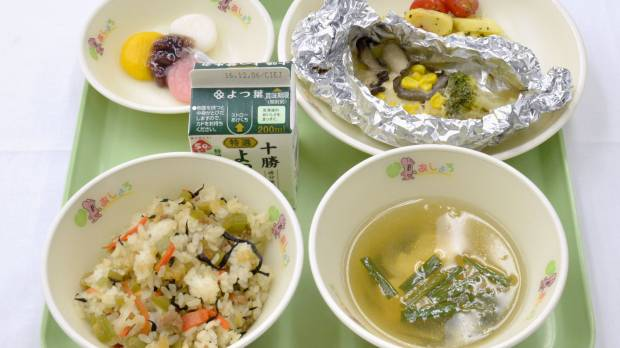 Japan's humble school lunch: social leveler and sacred cow