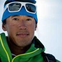 Jimmy Chin, director of 'Meru,' which follows his journey to the peak of Mount Meru with Conrad Anker and Renar Ozturk. | © 2015 MERU FILMS