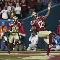 Florida State edges Michigan in wild Orange Bowl