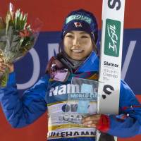Ski jumper Takanashi starts season with win