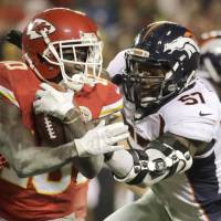 Playoff-bound Chiefs blow out rival Broncos