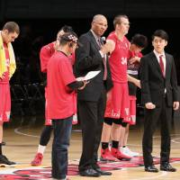 Toyama coach Nash persevering through challenges